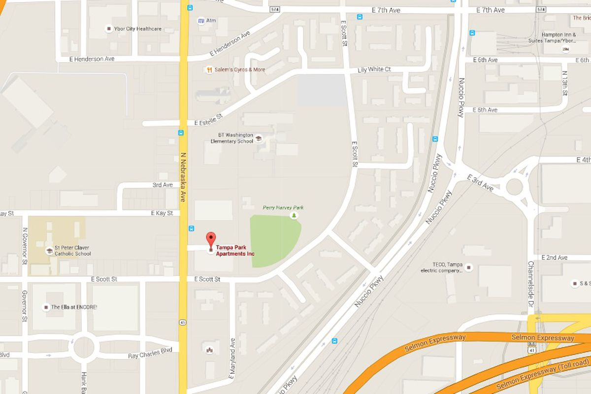 Rays Stadium Search: Tampa Park Apartments - DRaysBay