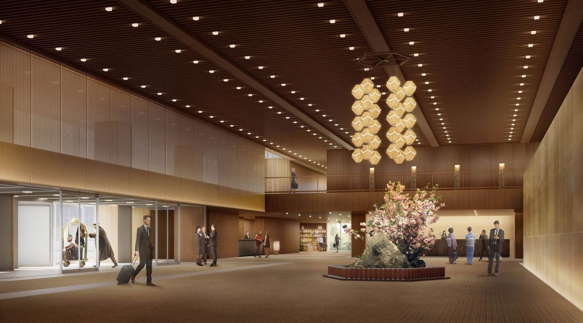 The Hotel Okura, which is currently undergoing controversial renovations, will reopen in September of 2019. The new design will feature elements of the original iconic design, like its dimly lit lobby and the retro-chic Orchid Bar.