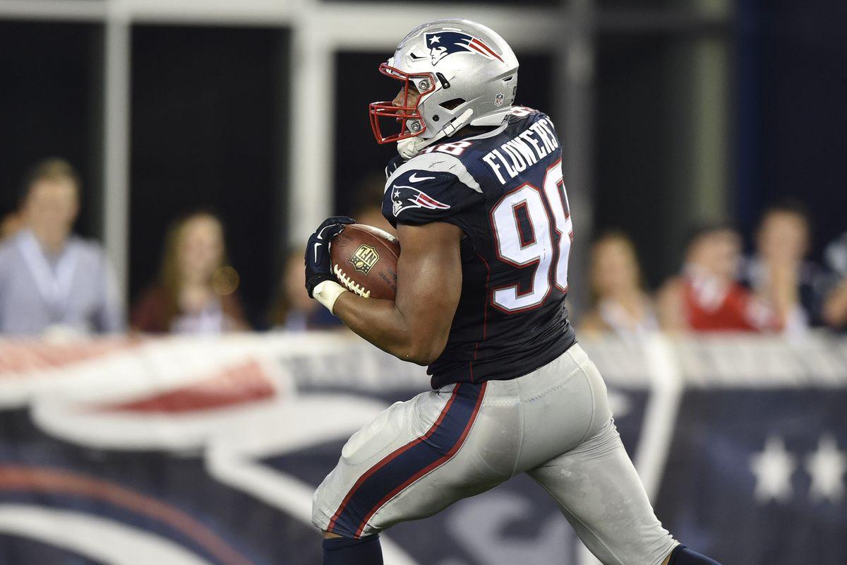 New England Patriots roster breakdown 98 DE Trey Flowers Pats