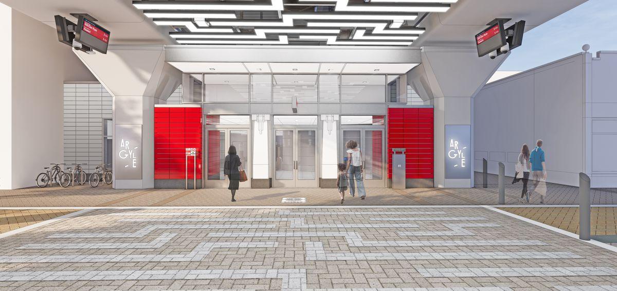 New Argyle Station design