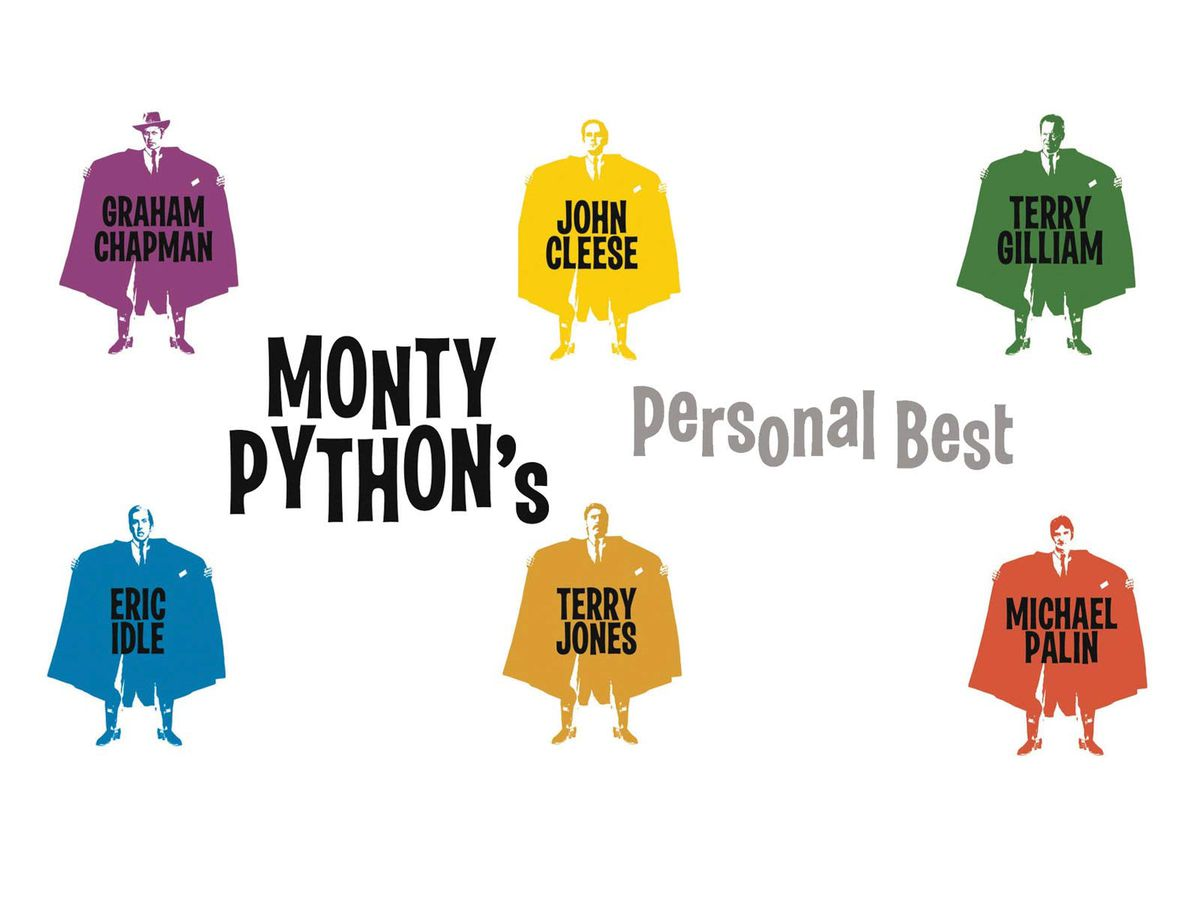 silhouettes of each python member in flasher coats