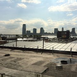 The rooftop terrace is enormous.  It's easy to imagine this space being used for large events.