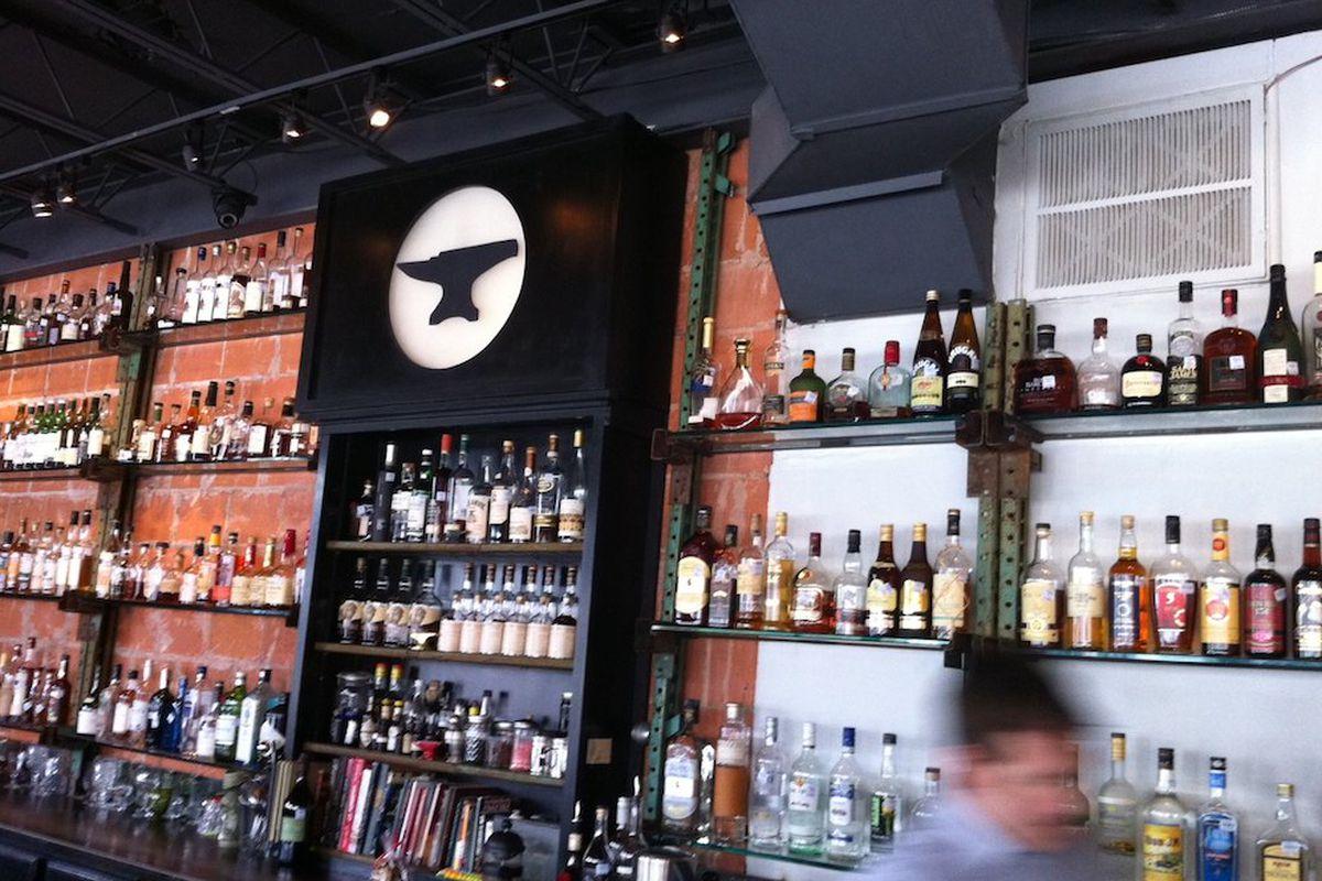 Inside Anvil Bar & Refuge.