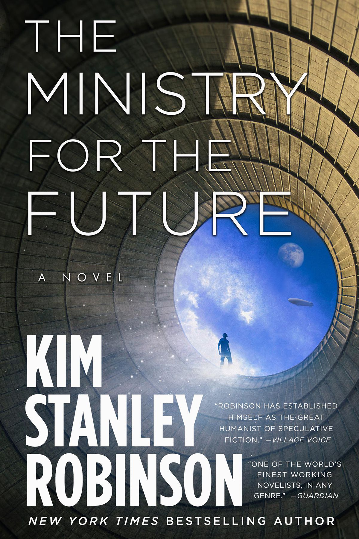The cover of Kim Stanley Robinson's Ministry For the Future