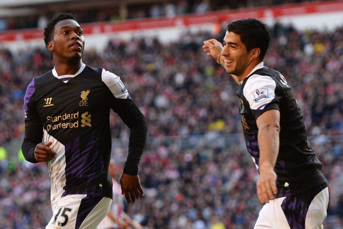 Sturridge and Suarez, not a shabby duo