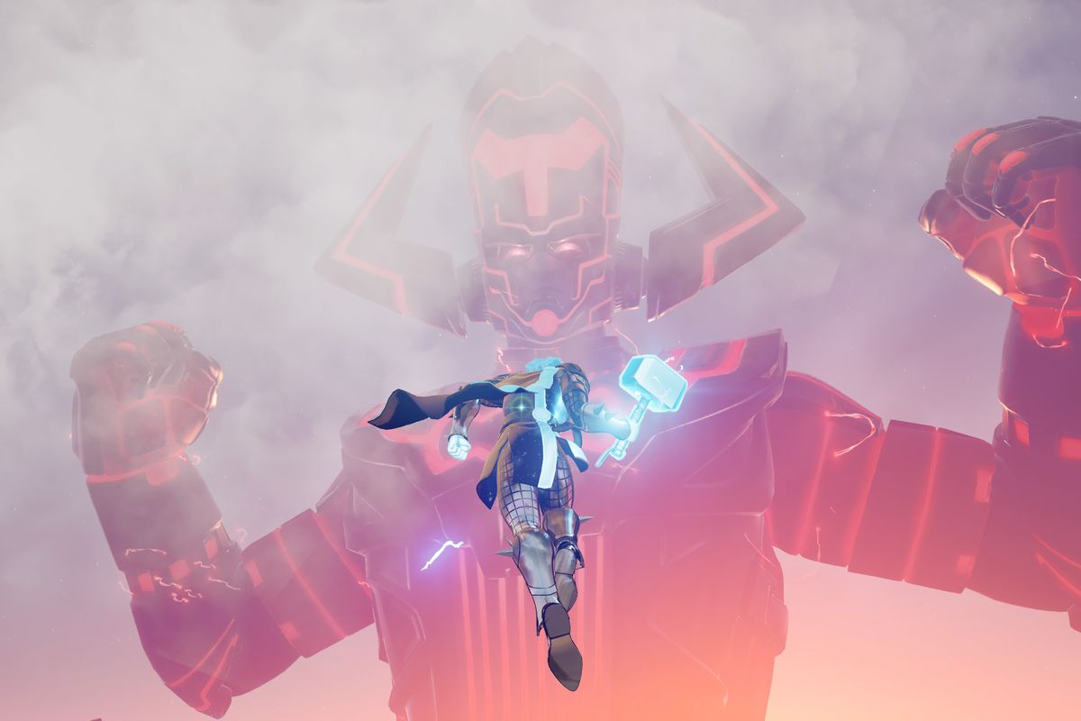 Fortnite Ends 2020 Fortnite S Galactus Event Was A Giant Arcade Shooter And Now The Game Is Down The Verge
