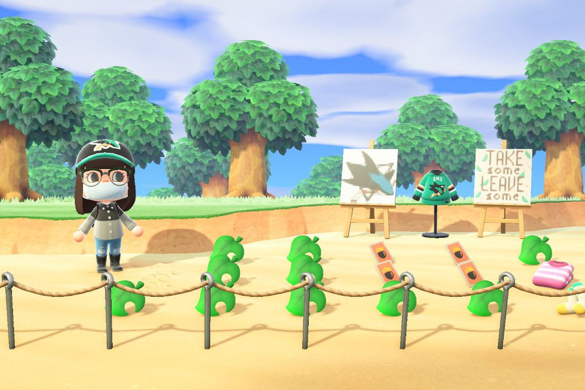 Sharks fan swap meet on Animal Crossing: Dodo Code, Hot ...