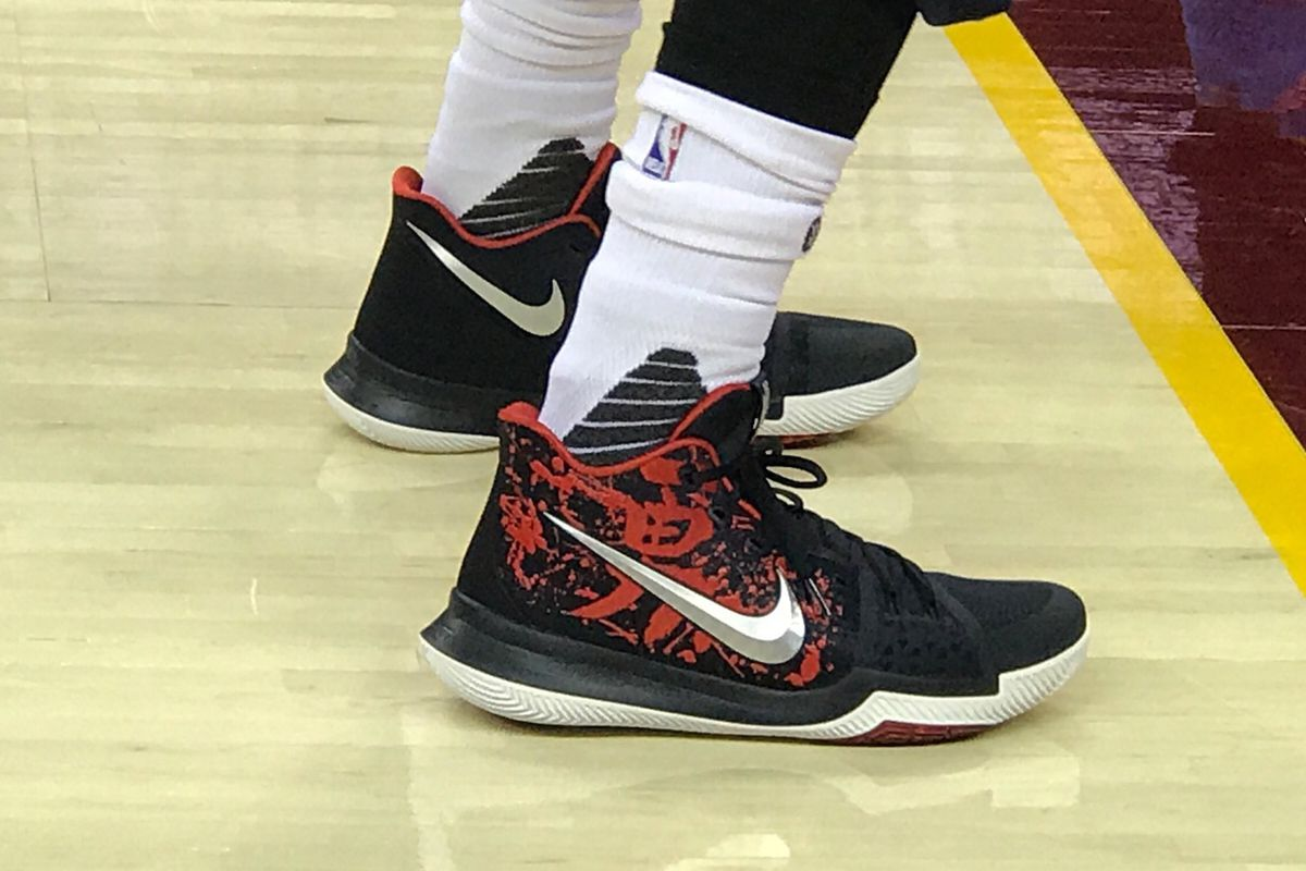 Image result for kyrie 3 on court