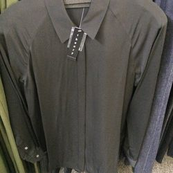 Button-down, size S, $89 (was $275)