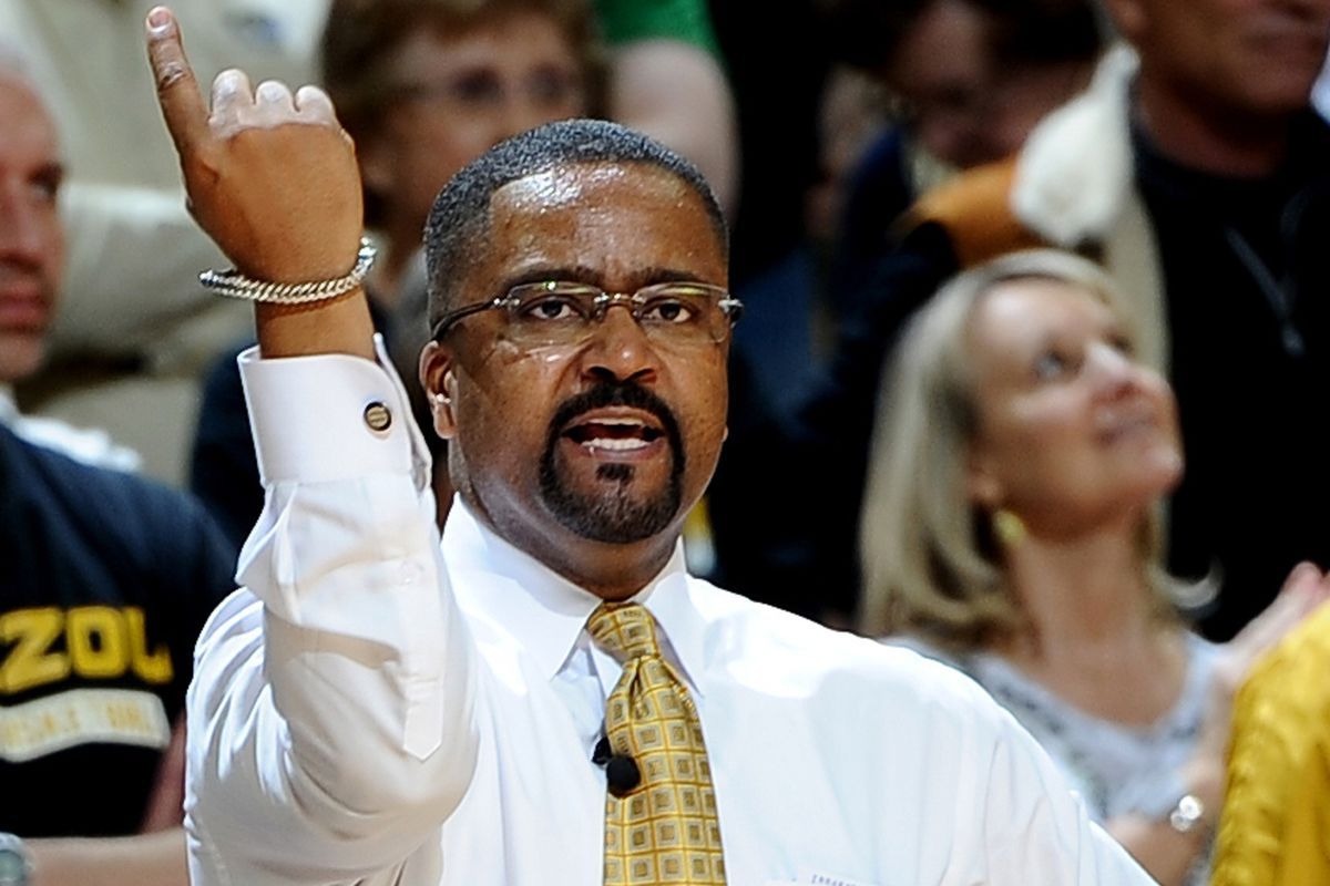 Frank Haith hates you, but he forgot which finger to use.