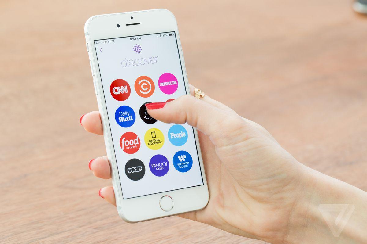 Snapchat Discover stock