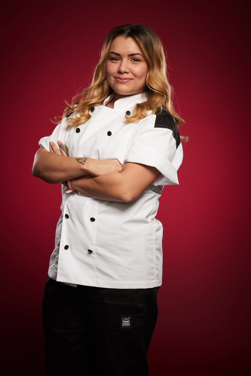 Michelle Tribble is the new head chef at Gordon Ramsay Hell's Kitchen.