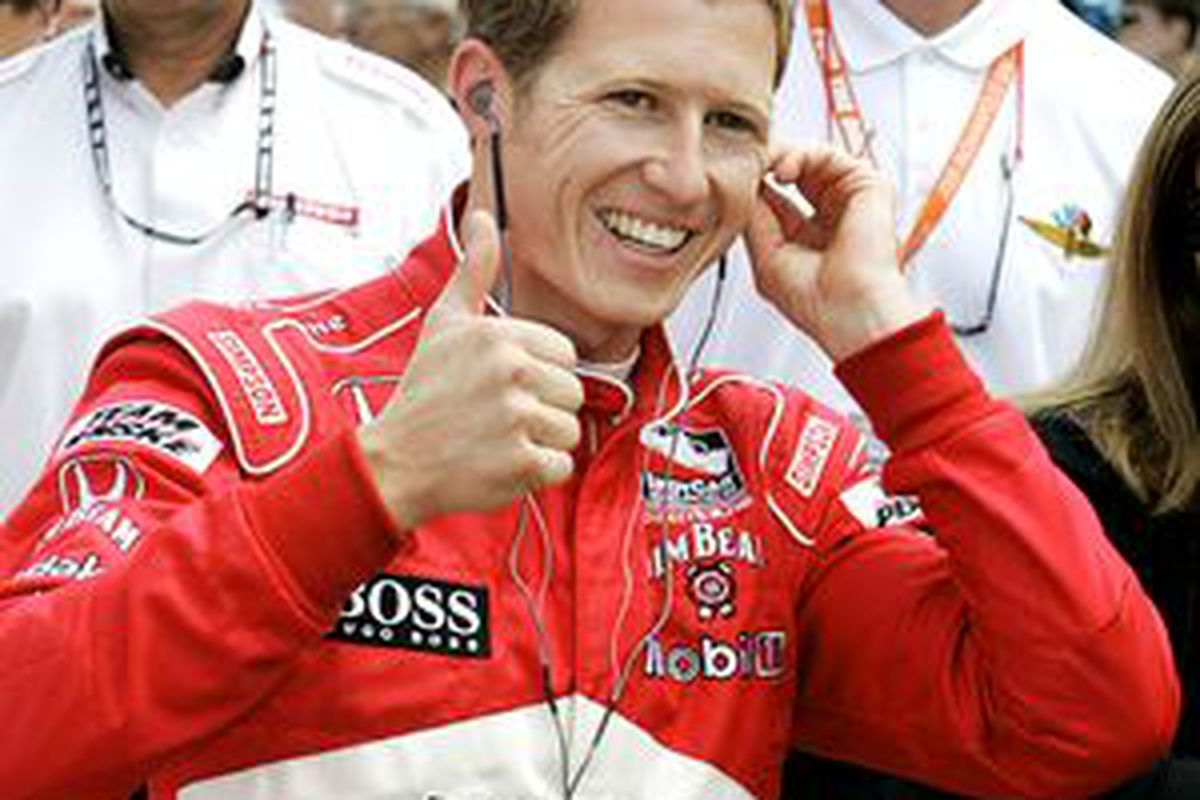 Is Ryan Briscoe less compelling because he's not American?