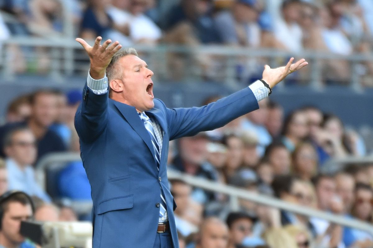 Huh, so Peter Vermes and I are on the same page.