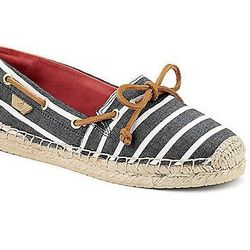 """Give your classic boat shoes a break. Mix things up with these Sperry Katama espadrilles, $44.99 at <a href=""""http://www.sperrytopsider.com/en/katama-espadrille/044211478265.html"""">Sperry Top-Sider</a>."""