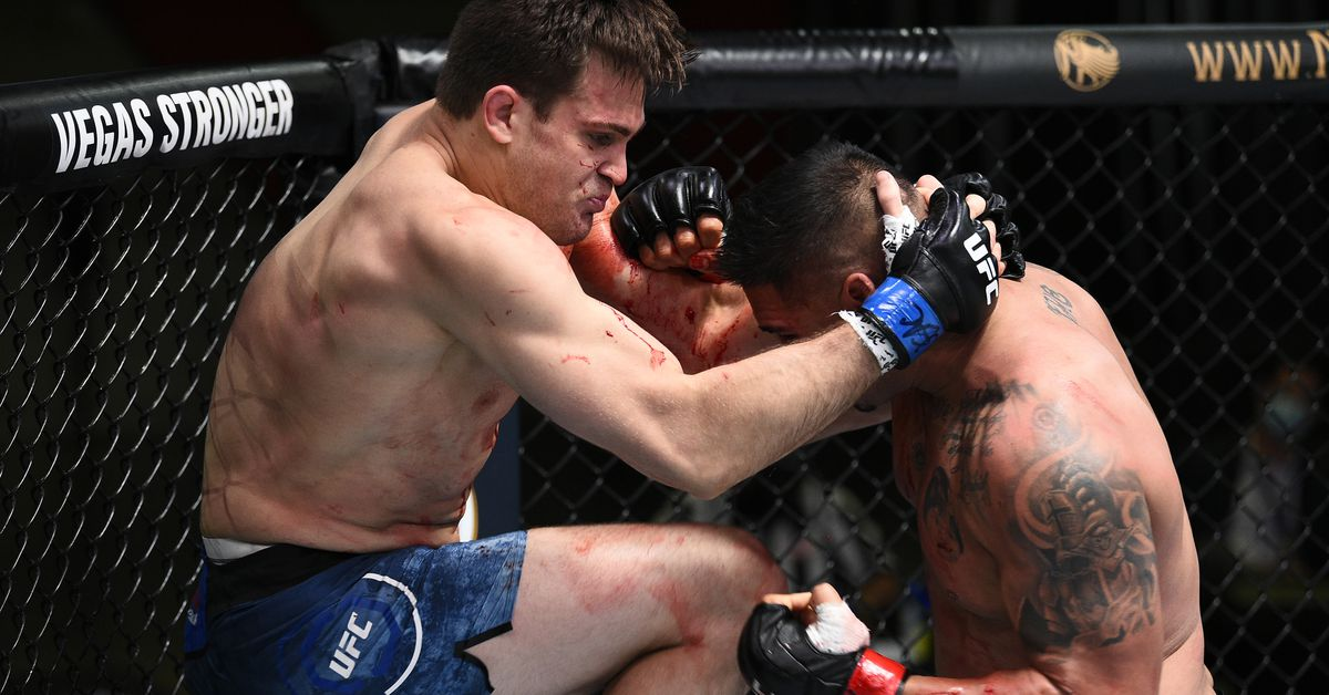 UFC on ESPN 15 video: Jordan Wright bloodies Ike Villanueva with barrage of strikes to get first-round finish