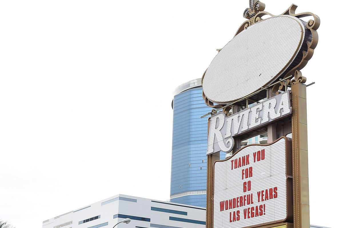 The Riviera closed on May 4. Now you can get your hands on what remains.