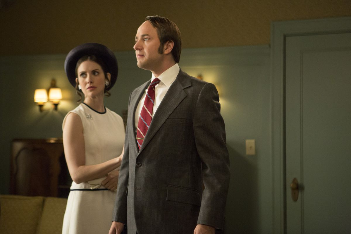Nobody works up a high dudgeon quite like Pete Campbell.