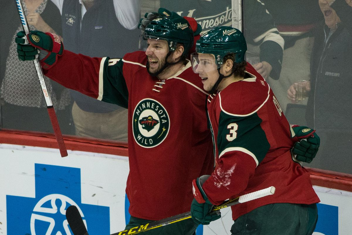 Thomas Vanek enjoyed some success with Charlie Coyle last year, but are they right for each other?