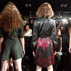 Models stood before the crowd for the grand finale.