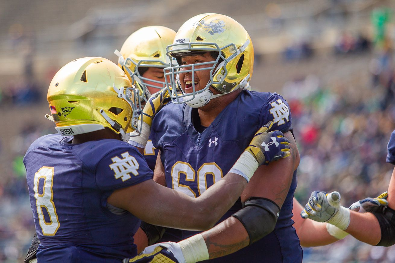 This Guy Plays Notre Dame Football: #69 Aaron Banks, Guard