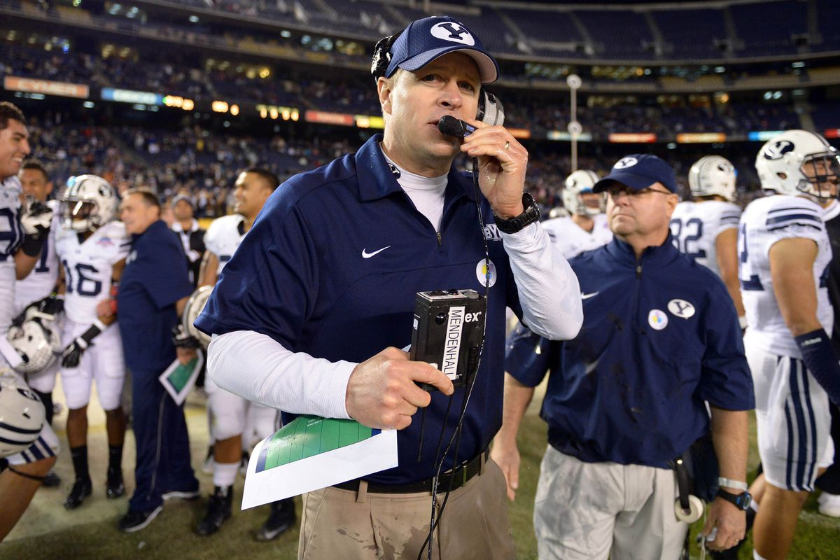 """""""I'll be able to stream Brian's Song with no lag? Tremendous."""" -Bronco Mendenhall, probably."""