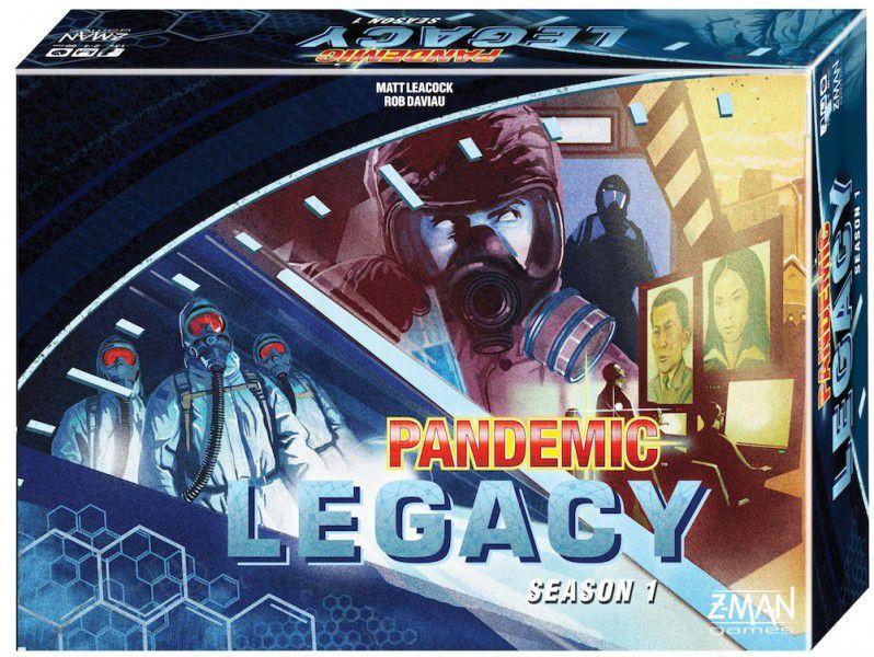 Box art for Pandemic Legacy Season One (Blue Edition)