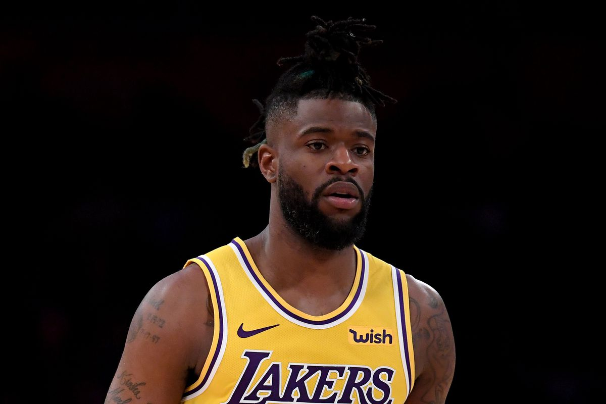 premium selection 582f6 c7601 Once just a fan of the Lakers, Reggie Bullock will now be ...