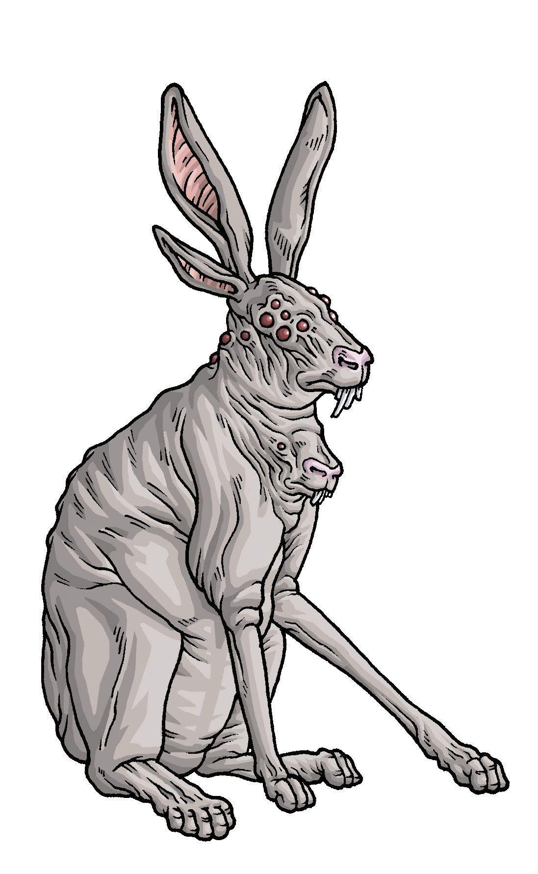 HP Lovecraft's rabbits from The Colour Out of Space