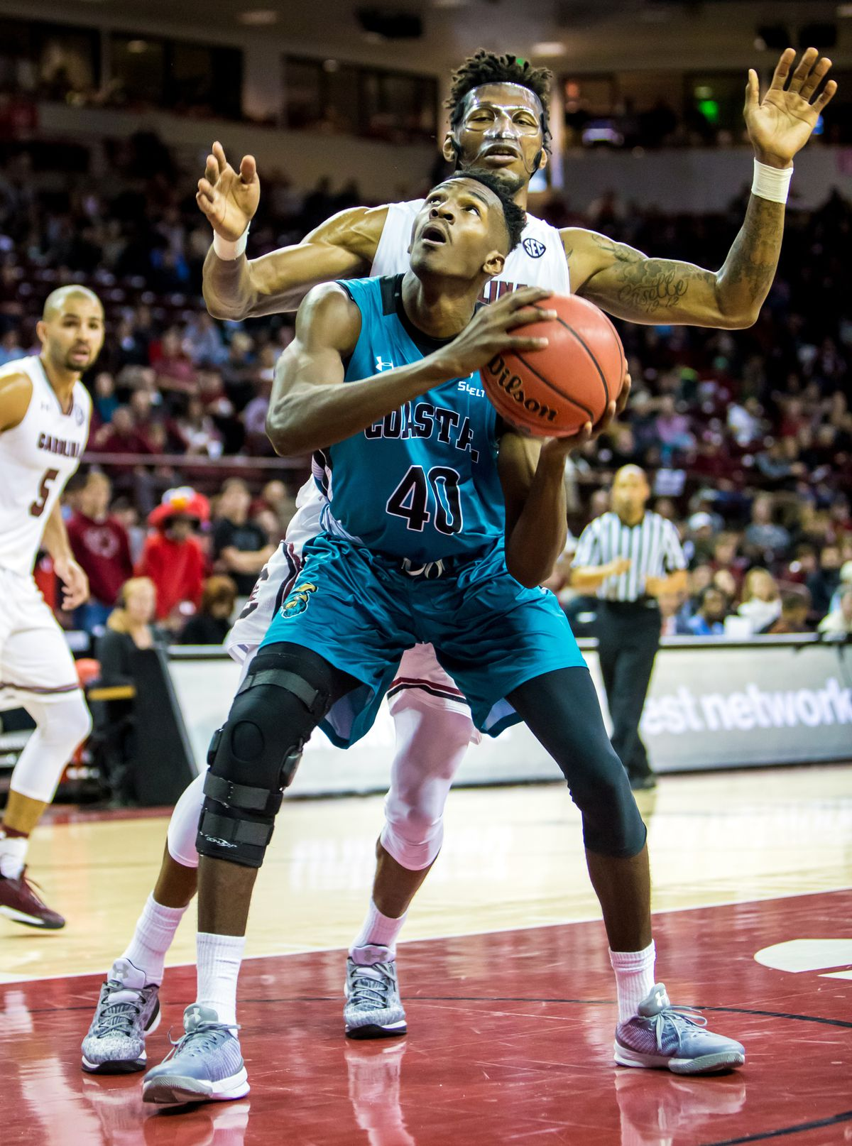 NCAA Basketball: Coastal Carolina at South Carolina
