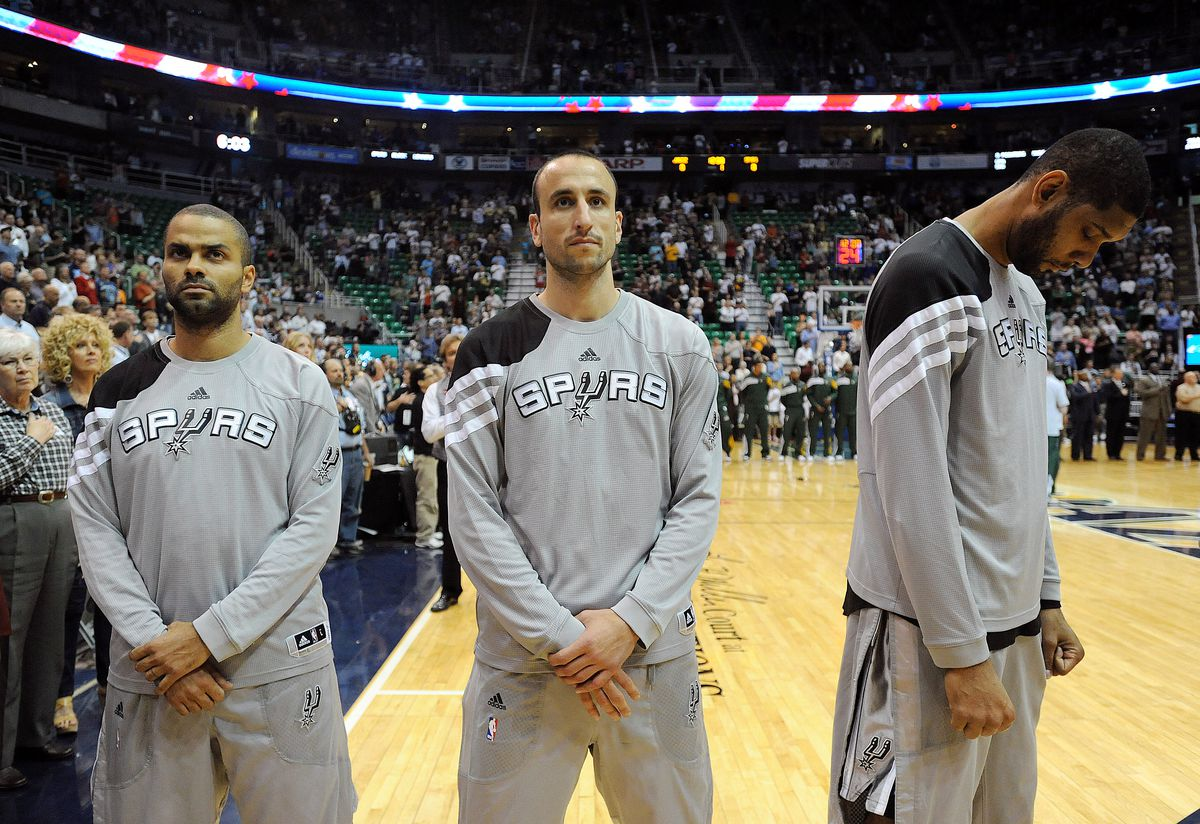 San Antonio Spurs v Utah Jazz - Game Four