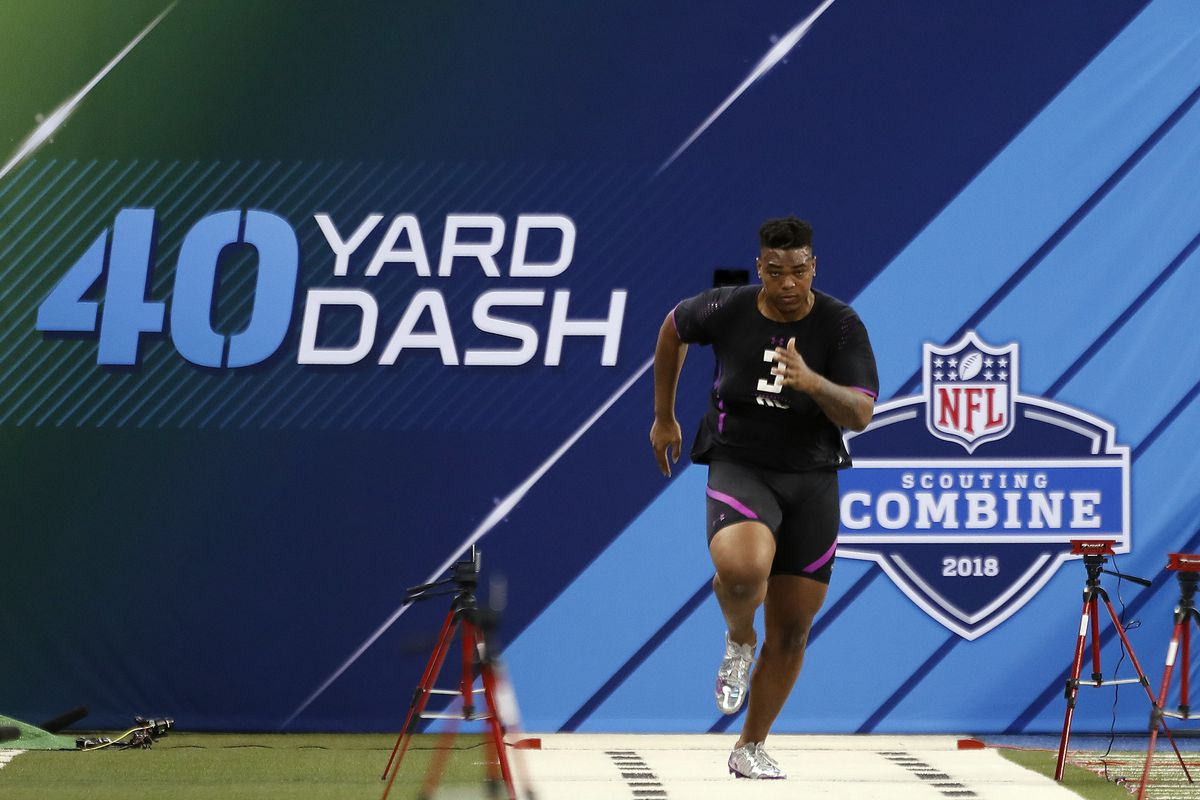 Nfl Combine Results Top Performers For Ol In Bench Press 40 Yard
