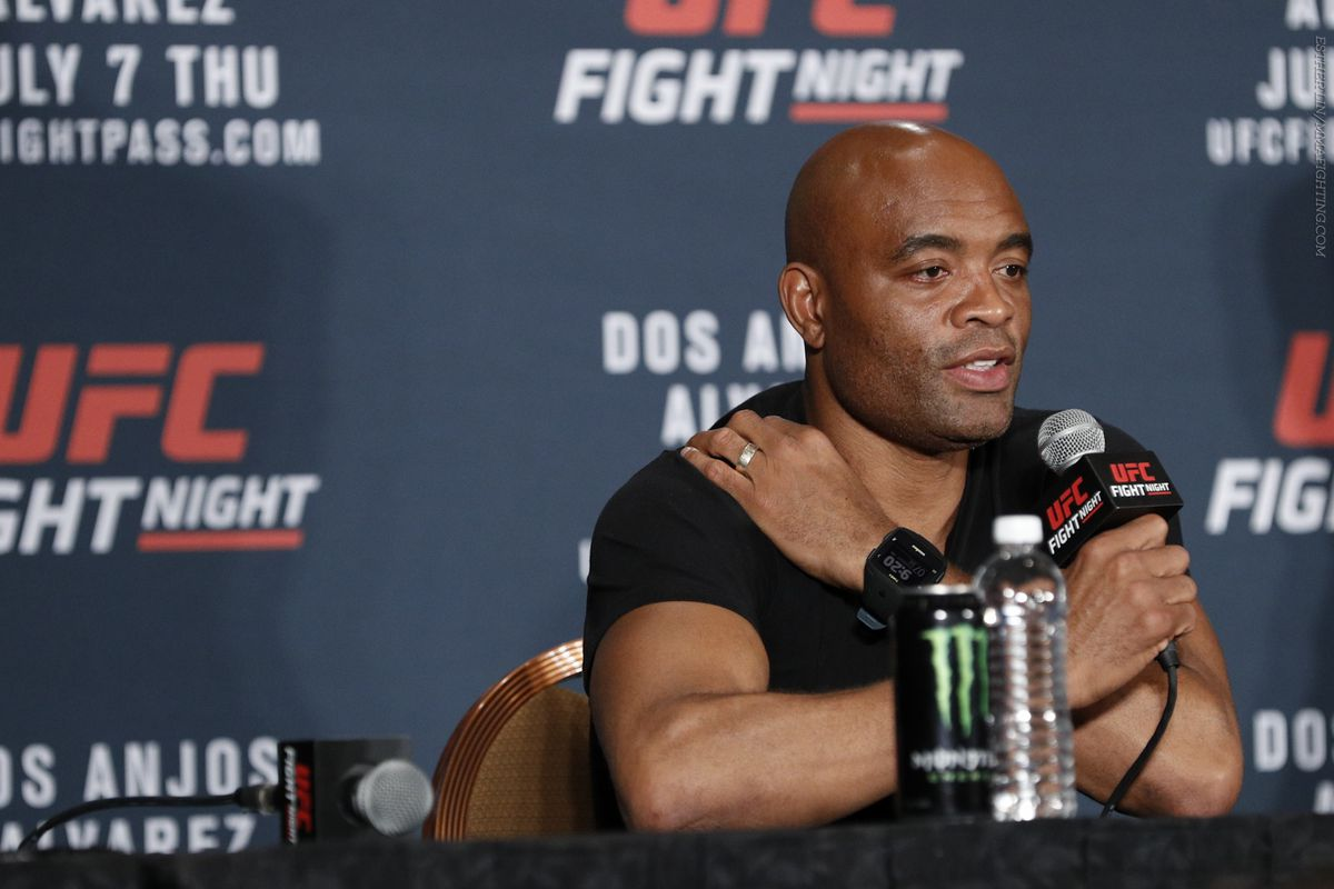 Anderson Silva tested positive for steroid, diuretic in