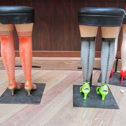 The cheeky bar stools.