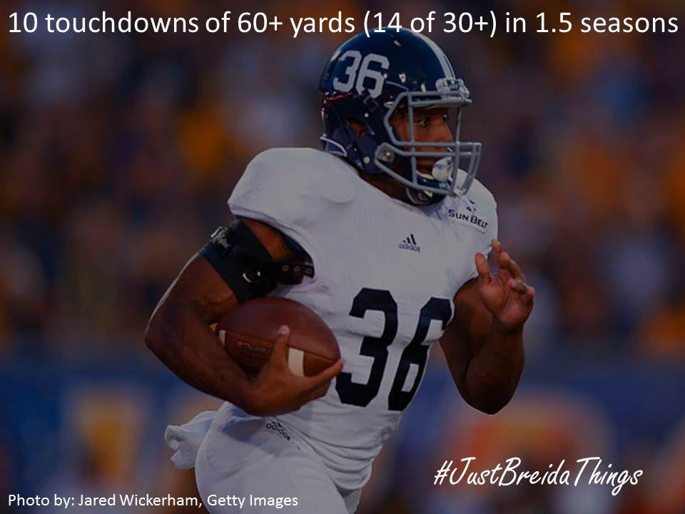 60+ Yard TDs