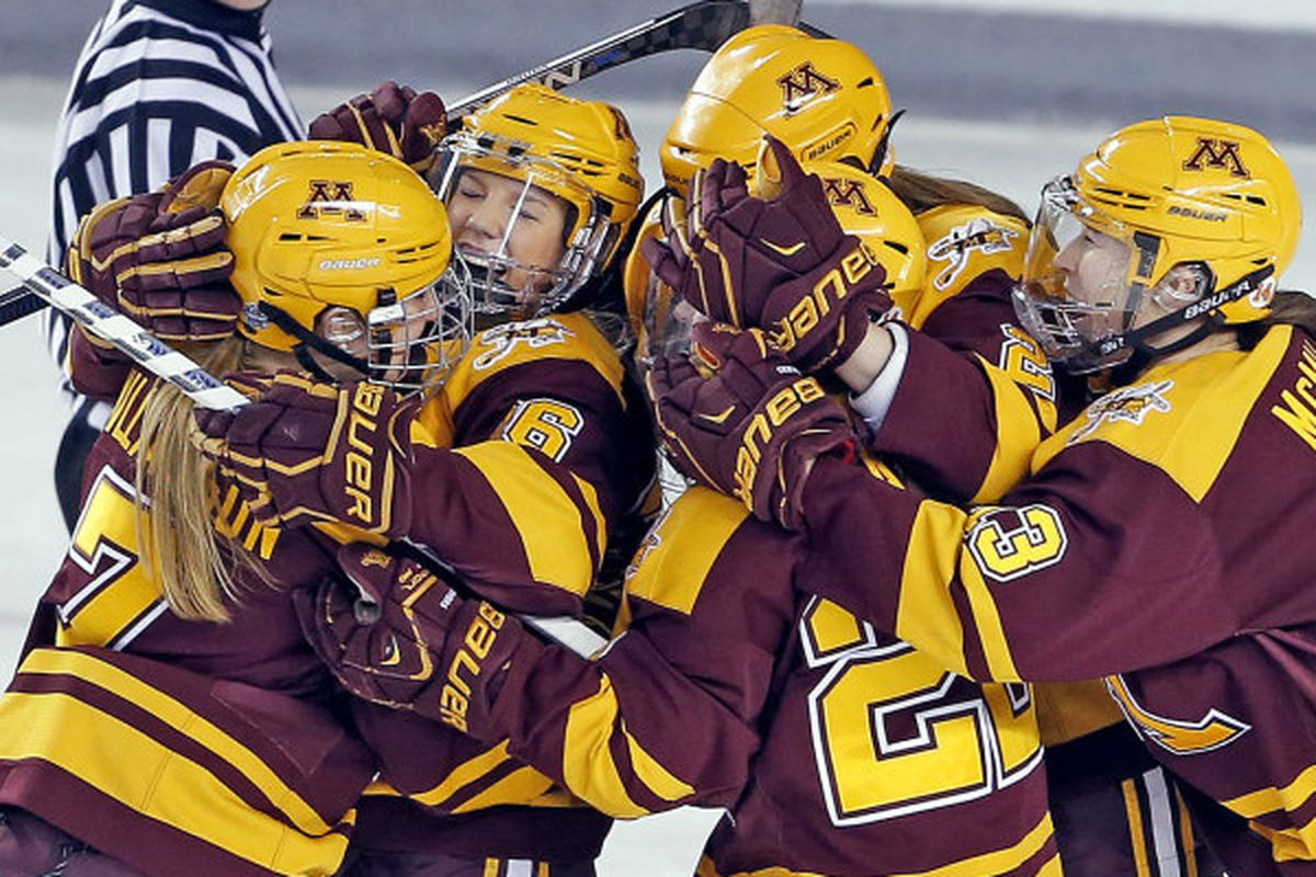 The Gophers are hoping for an even bigger celebration Sunday afternoon