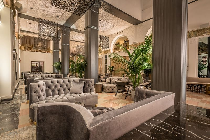 Mayfair Hotel lobby