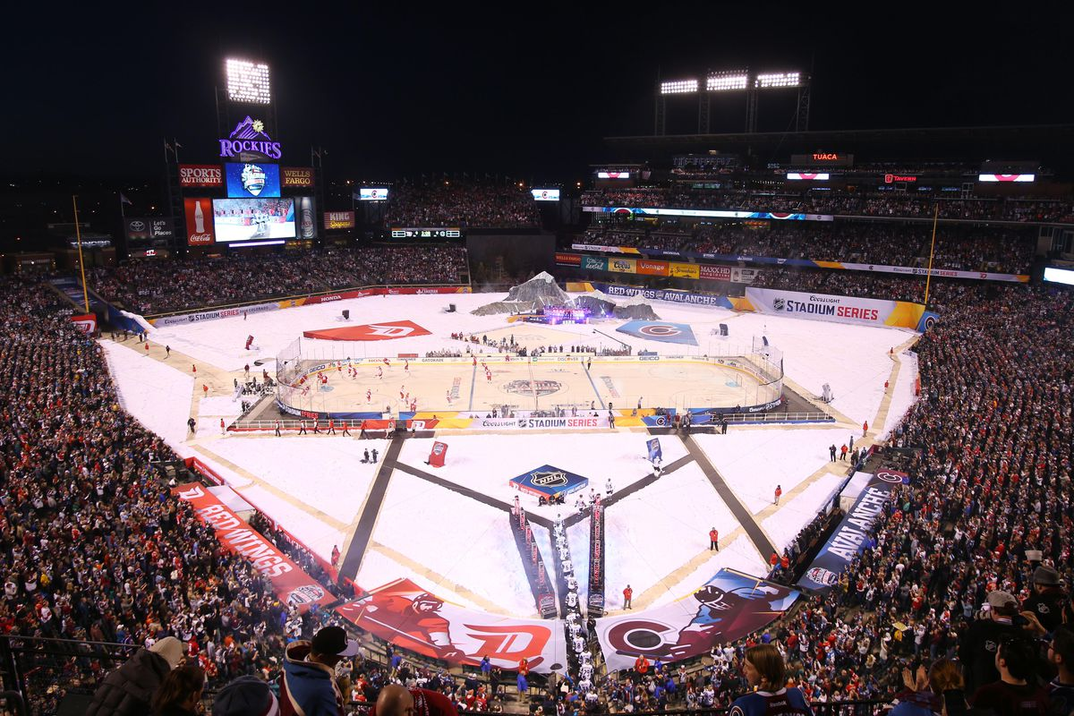 avs lose outdoor heartbreaker at coors field mile high hockey