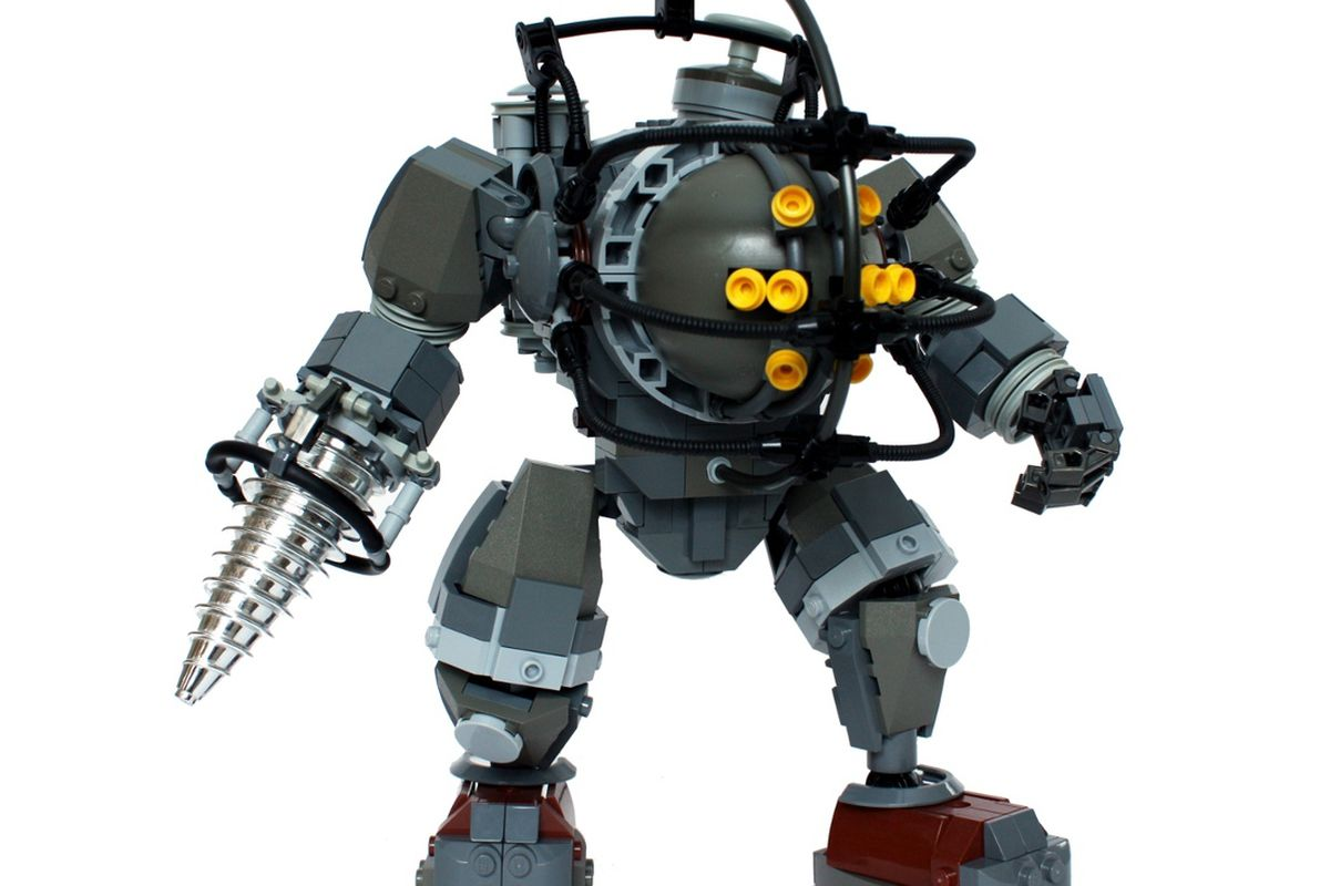 BioShock's iconic Big Daddy is not so terrifying when made of Legos