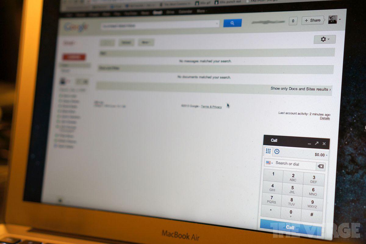 Gmail Calling
