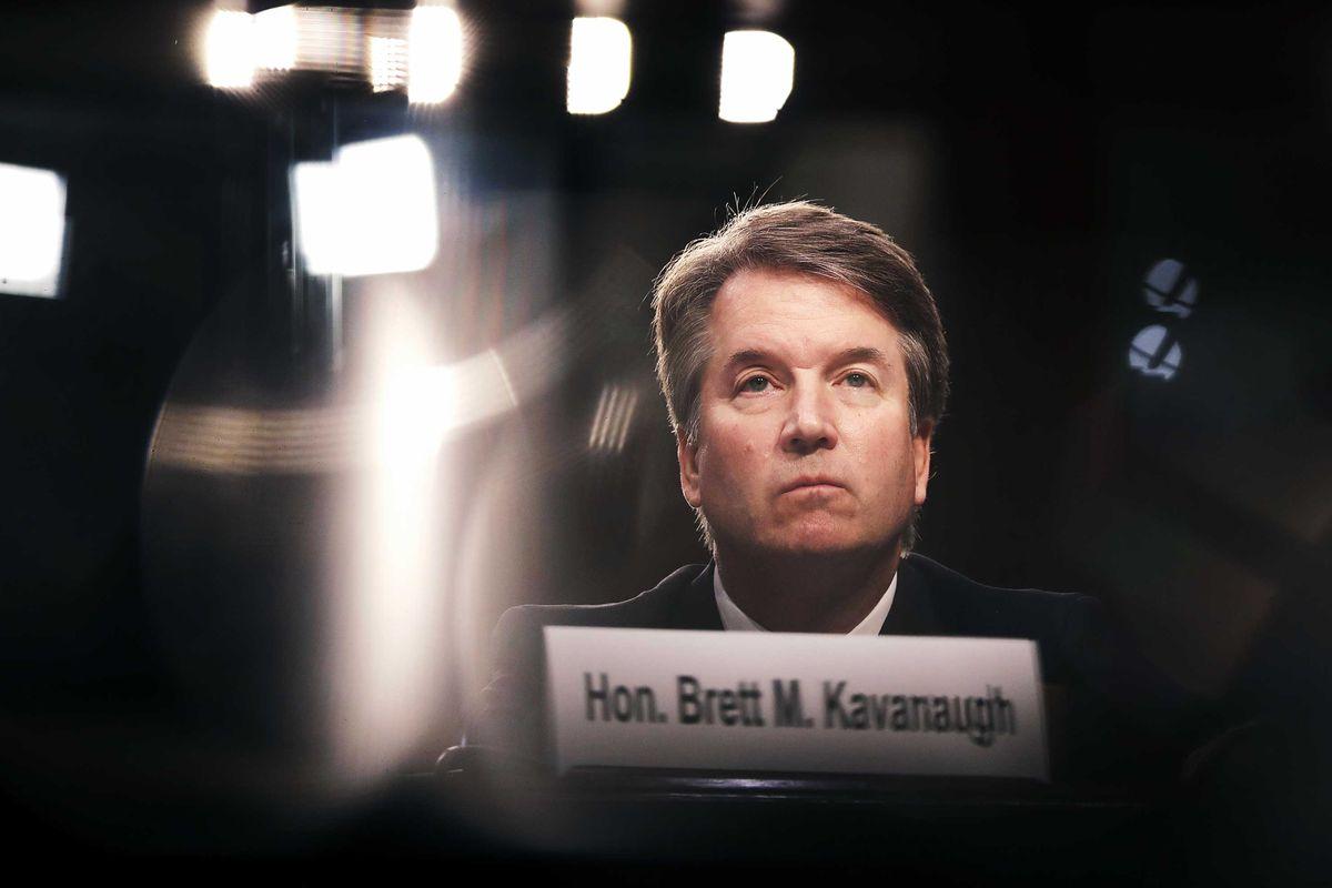 Supreme Court Justice Brett Kavanaugh.