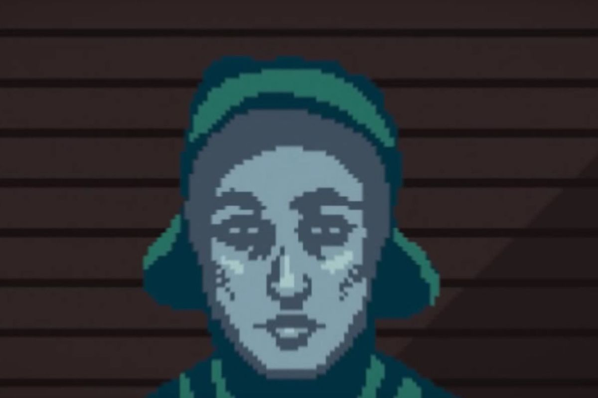 (Screenshot from 'Papers, Please,' designed by LucasPope)