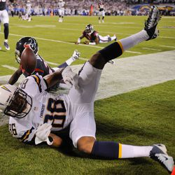 San Diego Chargers WR Vincent Brown