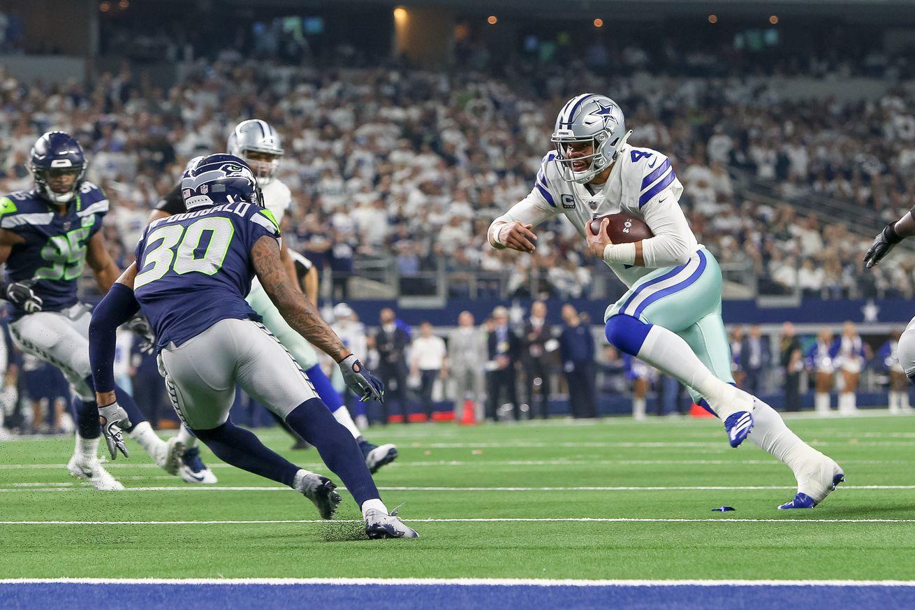 NFL: JAN 05 NFC Wild Card - Seahawks at Cowboys
