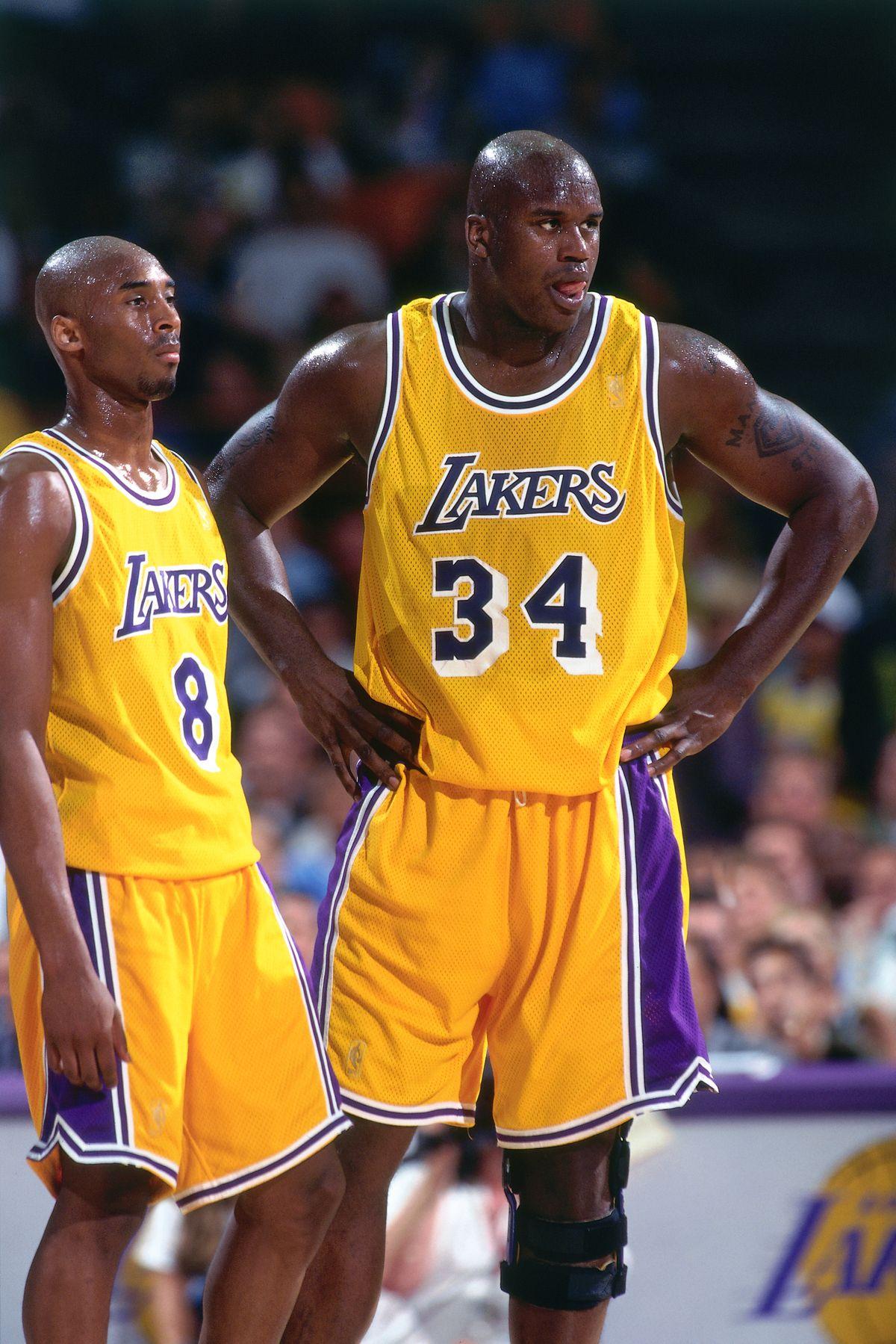 1997 NBA Playoffs - Round Two Game Three: Utah Jazz v Los Angeles Lakers