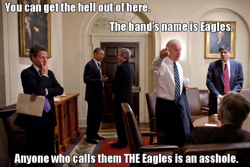 Biden eagles