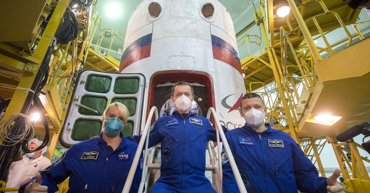 NASA astronaut set to launch on Russian rocket as US transitions to private spacecraft thumbnail