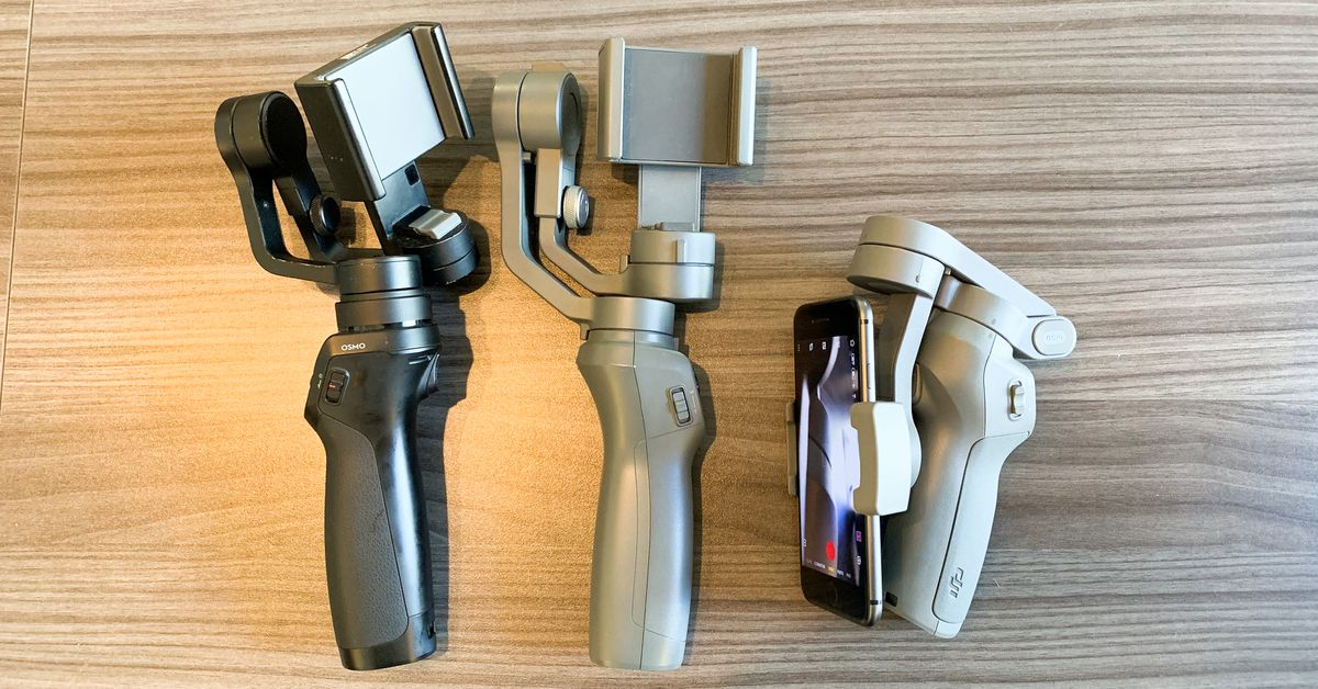 DJI's Osmo Mobile 3 is lighter, smaller, and folds up