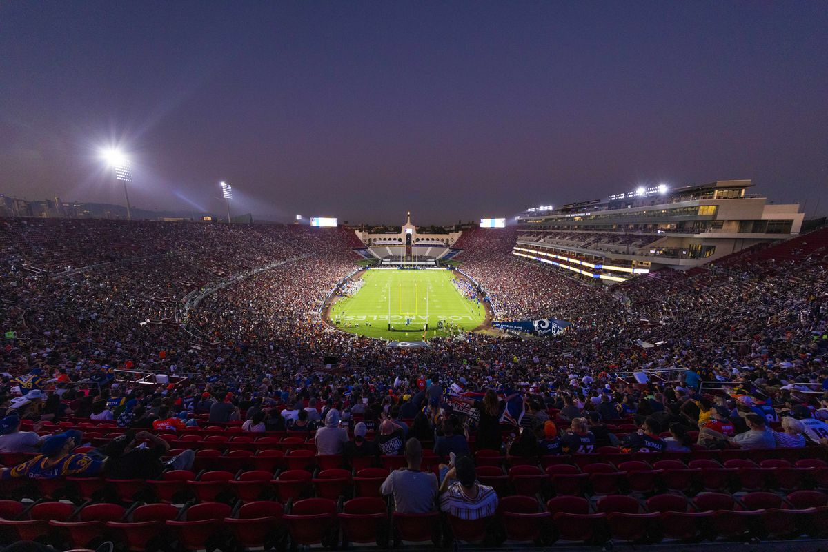 NFL: AUG 24 Broncos at Rams