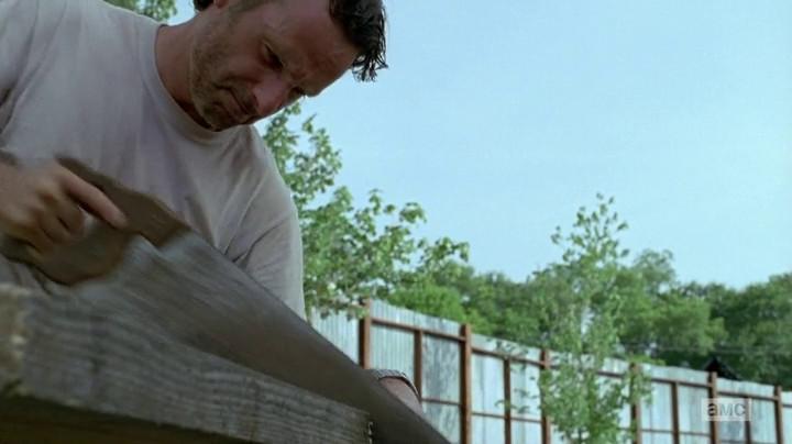 Rick's plans involve tools.
